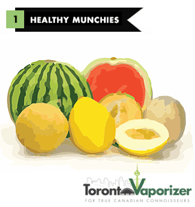 #1 Healthy Munchie: Melons