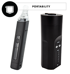 portability arizer solo pinnacle vaporizer