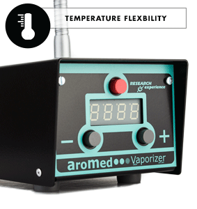 Temperature Flexibility Aromed Vaporizer
