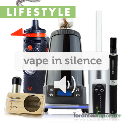 vaporizing in silence