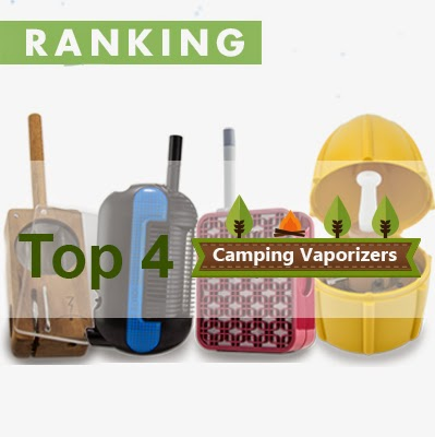 MFLB, Iolite V2, WISPR, and Vapman as the top 4 camping vaporizers