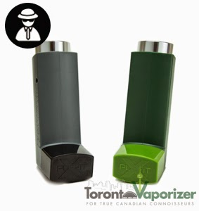 The Puffit X in black and grey and green