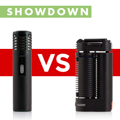 Arizer Air versus Crafty Vaporizer Showdown