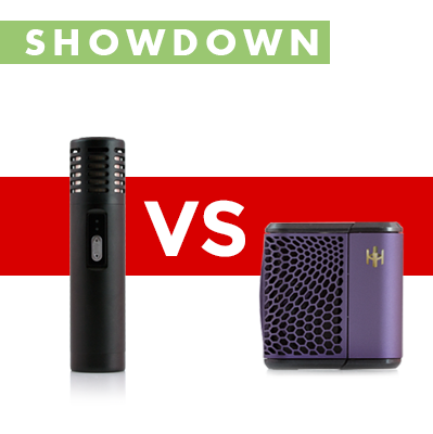 Arizer Air versus Haze Vaporizer Showdown