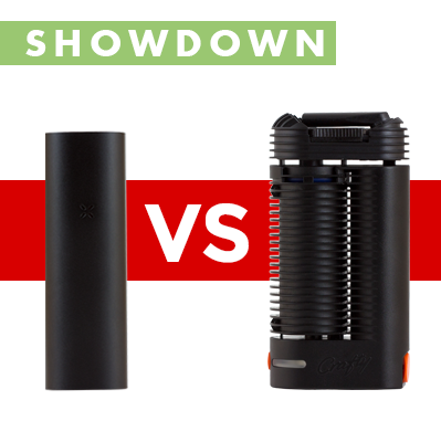 Pax versus Crafty Vaporizer Showdown