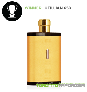 Manufacturing Quality Winner - Utillian 650