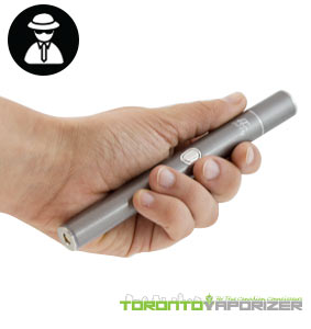 Puffly F1 Vaporizer in hand