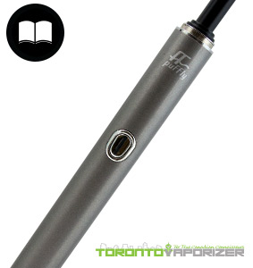 Puffly F1 Vaporizer button