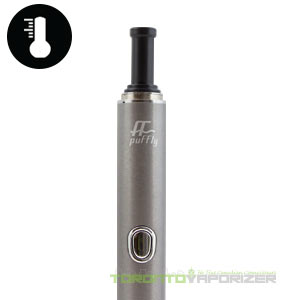 Puffly F1 Vaporizer unit close up
