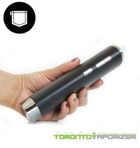 Flowermate V8 vaporizer in hand