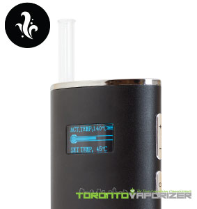 Flowermate V8 vaporizer digital temperature settings