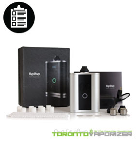Hipvap vaporizer package contents