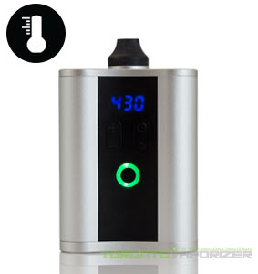 HipVap vaporizer turned on