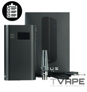 ZEUS Smite Plus Vaporizer package contents