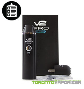V2 Pro Series 7 Vaporizer package contents