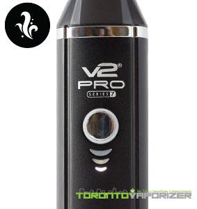 V2 Pro Series 7 Vaporizer Close up