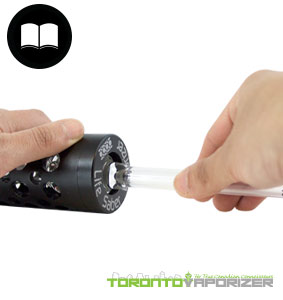 Life Saber Vaporizer Ease of Use