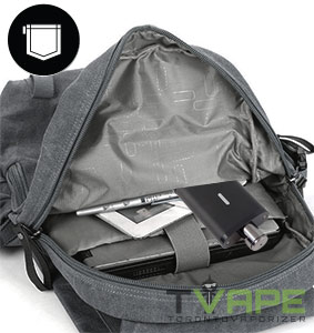 Utillian 651 in backpack