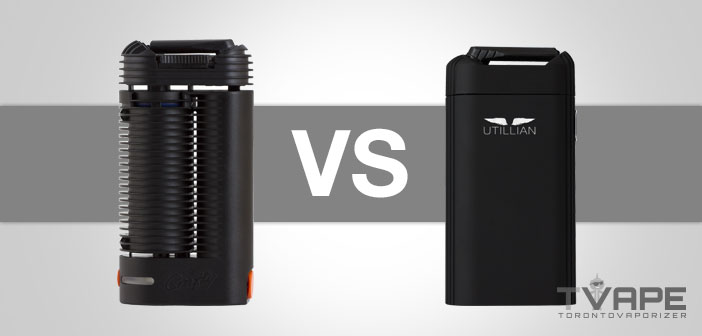 Crafty vs Utillian 720 vaporizer