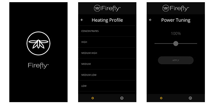 Firefly 2 Heating Profiles