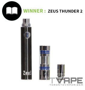 Thunder 2 with atomizer and mouthpiece detached
