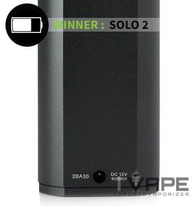 Arizer Solo vs Arizer Solo 2 Battery Life