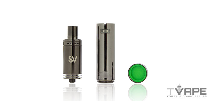Source Slim 4 with wax cannister
