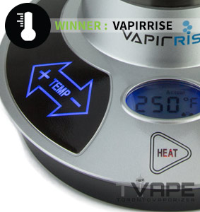 Vapir Rise vs Vapexhale Temperature Flexibility