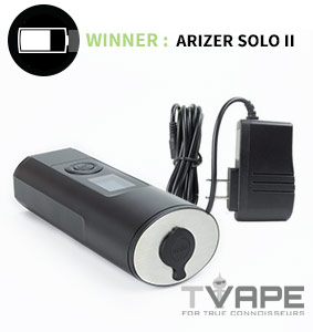 Arizer Solo 2 with charger