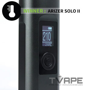 Arizer Solo 2 digital display