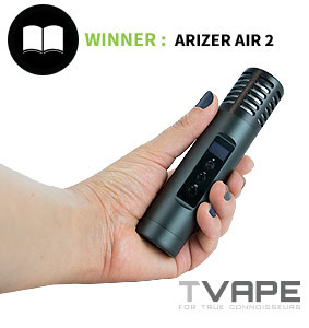 Arizer Air 2 in hand
