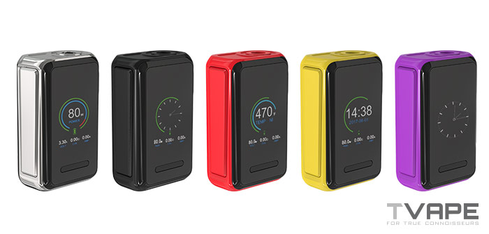 Joyetech Cuboid Lite Mod color selection