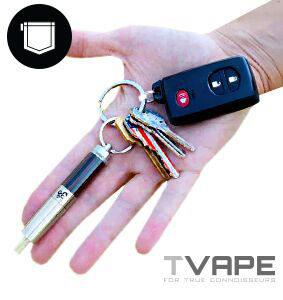 AirVape OM on keychain