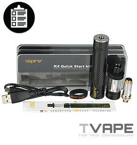Aspire K4 Full Kit