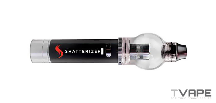 Shatterizer Concentrate Vaporizer flat profile