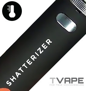 Shatterizer Concentrate Vaporizer power button