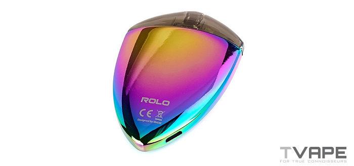 Smok Rolo Badge flat display