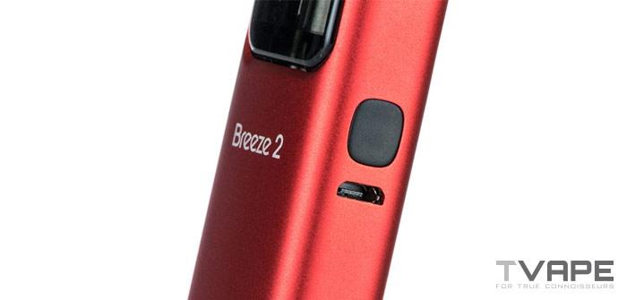 Aspire Breeze 2 power button
