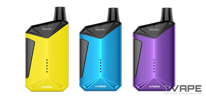 Smok X-Force available colors
