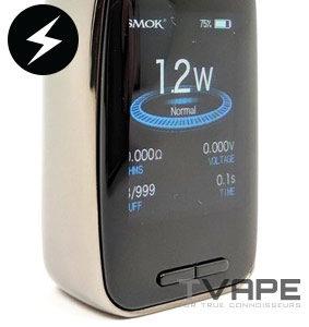Smok X Priv Baby power control