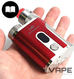 Eleaf Pico Squeeze 2 in hand