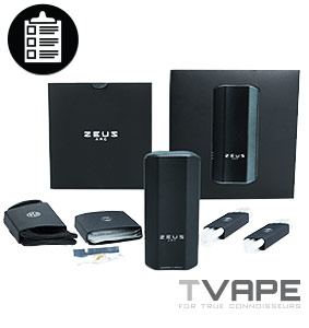 Zeus Arc Vaporizer Review – The Golden Touch | TVAPE Blog