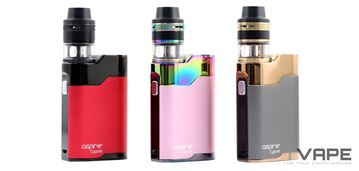 Aspire Cygnet Revvo available colors