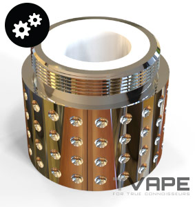 Megatoke heating chamber