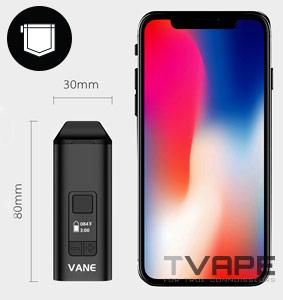 Yocan Vane Vaporizer portability
