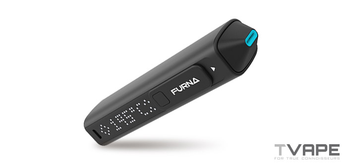 Furna Vaporizer inclined view